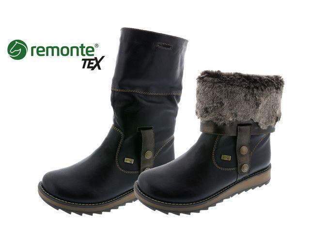 Rieker cipő - D8874-01