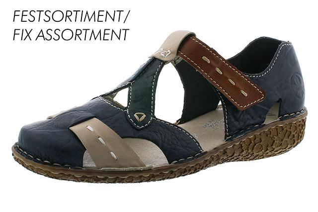 Rieker cipő - M0963-14